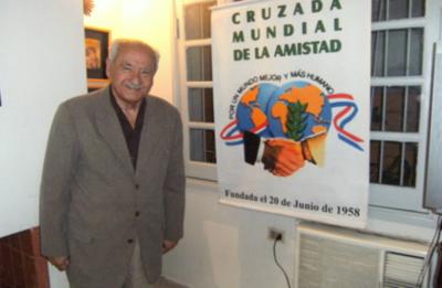 Murió Don Artemio Bracho principal ideólogo e impulsor del día mundial de la amistad