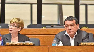 Alianza Abdo-Lugo-Masi enfrenta hoy su primera prueba de fuego