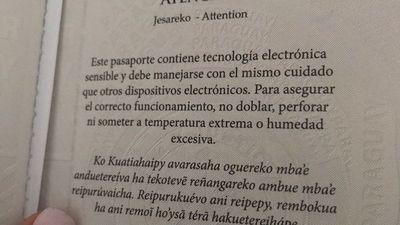 Estado tendrá que tener todo traducido en guaraní
