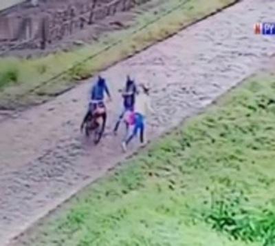 Nuevo ataque callejero de motochorros