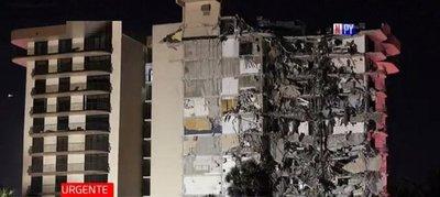 Seis paraguayos desaparecidos tras derrumbe de edificio en Miami