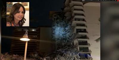 Hermana de Primera Dama y su familia se encontraban en edificio derrumbado de Miami