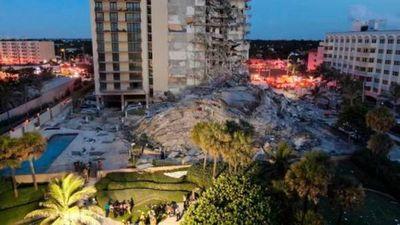 Parientes de Primera Dama desaparecen en colapso de edificio