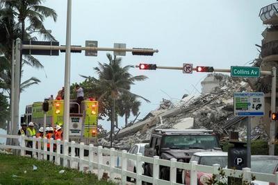 Paraguay confirma seis desaparecidos en el edificio derrumbado en Miami