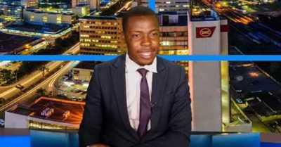Conductor de TV interrumpe noticiario en vivo para acusar que no le han pagado el sueldo