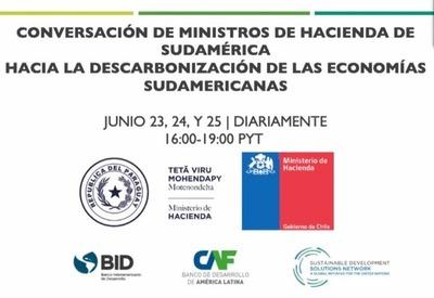 Analizarán recuperación verde en foro de Ministros de Finanzas de Sudamérica