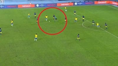 Conmebol da a conocer audio del polémico gol de Brasil.