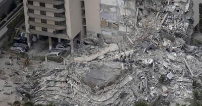 La Nación / Consulado no maneja la identidad de las personas rescatadas tras derrumbe de edificio