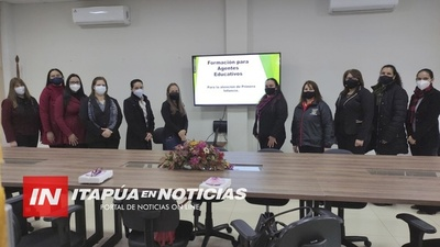 GOBERNACIÓN APOYA FORMACIÓN PARA AGENTES DE EDUCACIÓN INICIAL NO FORMAL CENTRADA EN EL ADULTO.