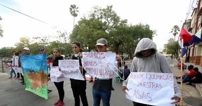 La Nación / Piden a Giuzzio respetar derechos de pueblos indígenas
