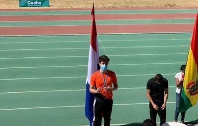 Velocista Paraguayo celebra su buen momento y apunta a los juegos olímpicos de Francia 2024