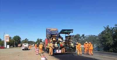 Realizan supervisión socio ambiental de las obras de la ruta Transchaco