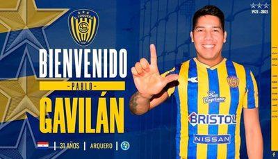 Pablo Gavilán puso la firma y es nuevo golero del Sportivo Luqueño