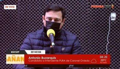 """""""Ni la política, ni las elecciones tienen que dividirnos ya que esto es momentáneo""""; dijo Antonio Buzarquis – Prensa 5"""