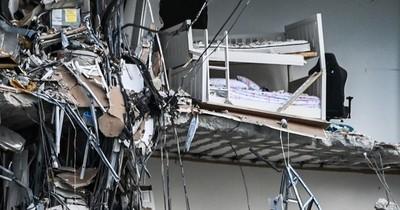 La Nación / Periodista paraguaya califica de raro el derrumbe del edificio en Miami