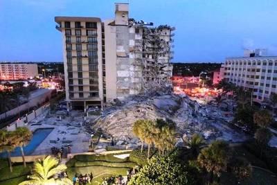 EEUU: Familiares de la Primera Dama entre casi 100 desaparecidos tras derrumbe en Miami •