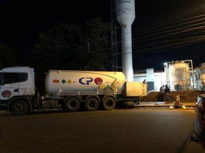 Incautan camión con 12.000 litros de oxígeno de supuesto contrabando en PJC