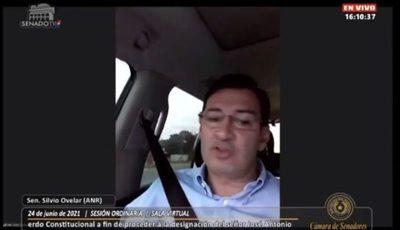 """""""Beto"""" Ovelar confieza que Abdo Benítez le ordenó votar por """"Cachito"""" Salomón"""
