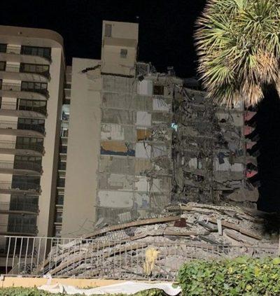 Derrumbe en Miami: Perros detectan señales de vida entre los escombros