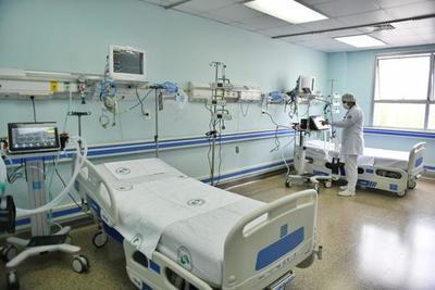 Habilitan ocho nuevas camas de UTI en el HIRAP