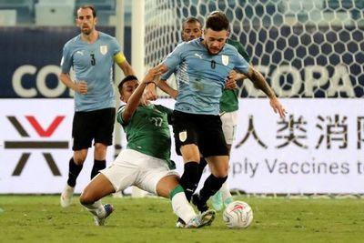 Tabárez no pone metas al paso de Uruguay