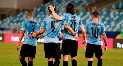 Uruguay gana, clasifica a cuartos y despide a Bolivia de la Copa América