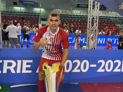Salas es campeón en Italia