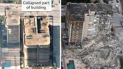 Edificio colapsado en Miami se venía hundiendo desde la década del 90