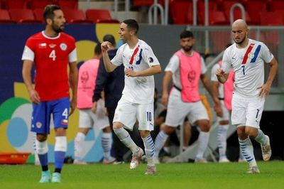 Paraguay derrota a Chile y sella su clasificación