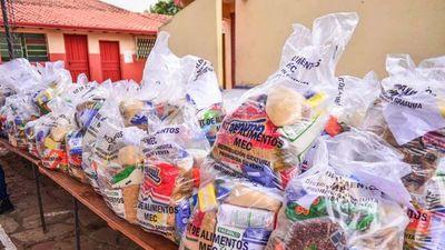 MEC responsabiliza a padres sobre kits de alimentos ofertados en redes sociales