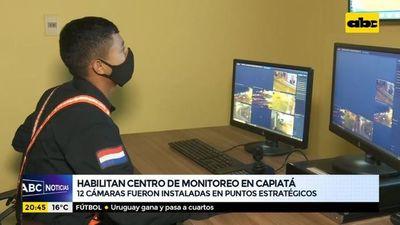 Habilitan centro de monitoreo en Capiatá