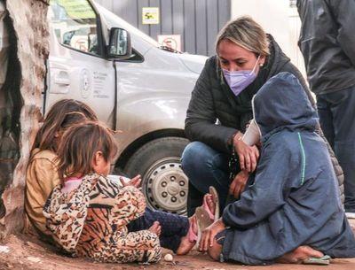 Niños en las calles, sin solución