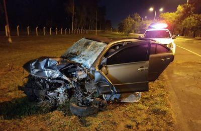 ¡Increíble!: Cuarto día consecutivo de accidentes sobre autopista Silvio Pettirossi