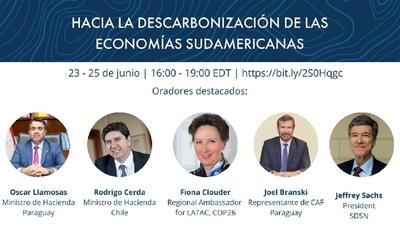 Hoy finaliza el foro sobre descarbonización de las economías sudamericanas