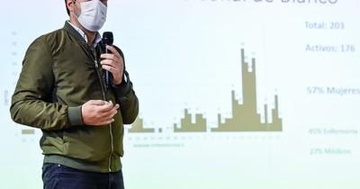 La Nación / Sequera propone incluir a una enfermera en el Panteón de los Héroes tras la pandemia