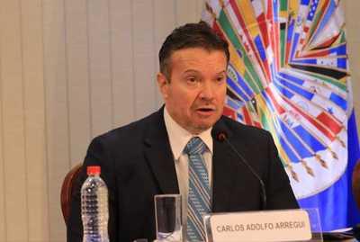 Ministro presenta conclusiones y recomendaciones en su calidad de presidente del Gelavex