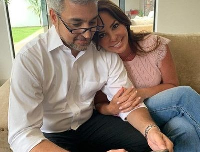 Mario Abdo esta en Mburuvicha Róga, a la espera de noticias desde Miami