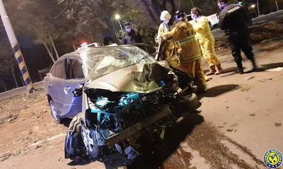 En una semana, dos muertos en cuatro accidentes en la Autopista de Luque •