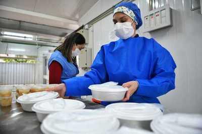 Pabellón de Contingencia de CDE recibió más de 25.000 servicios de alimentación de parte de Itaipu