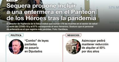 La Nación / LN PM: Las noticias más relevantes de la siesta del 25 de junio