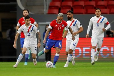 Los mayores recuperadores de la Albirroja en la victoria ante Chile