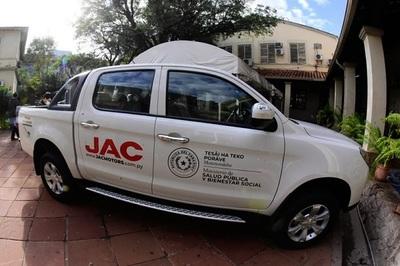 Ponen a disposición de Salud dos vehículos para traslado de vacunas