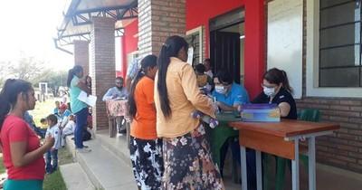 La Nación / Casa de Justicia brindó asistencia a comunidades indígenas Sawhoyamaxa y Yakye Axa