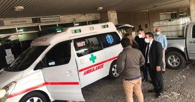 La Nación / Jueza dispuso donación de una ambulancia a puesto de salud de Pozo Colorado