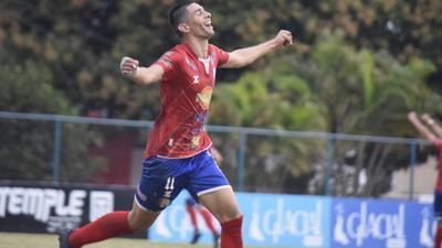 El gol que definió el partido entre Colegiales y Martín Ledesma