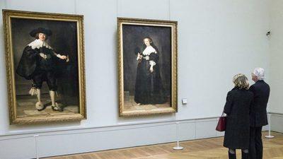 Una familia descubre una pintura perdida de Rembrandt después de que se cayera de la pared