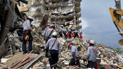 Paraguayos siguen sin aparecer tras derrumbe de edificio en Miami