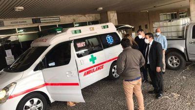 Procesado dona ambulancia