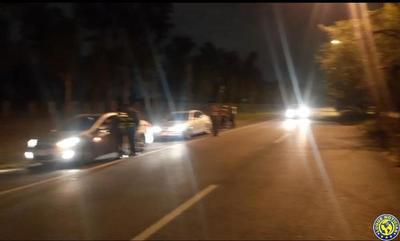 Caminera sacó de circulación a 18 conductores ebrios de la Autopista Silvio Pettirossi •