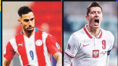 Paraguayo patea más al arco que Lewandowski
